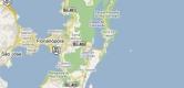 Mapa de Ilha de Santa Catarina