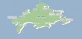 Mapa de Ilha Grande - Angra RJ