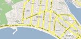 Mapa de Santos - SP